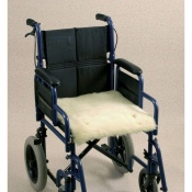 Wheelchair Seat Fleece Covers