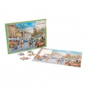 Active Minds Autumn Market Dementia Jigsaw Puzzle (35 Pieces)