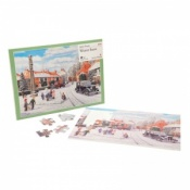 Active Minds Winter Snow Dementia Jigsaw Puzzle (35 Pieces)