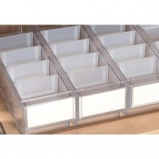 Additional Narrow Tray Divider for the Sunflower Medical UDS Trolleys (Pack of 10)