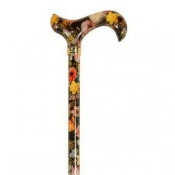 Adjustable National Gallery Bosschaert Derby Handle Walking Cane