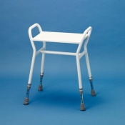 Adjustable Shower Stool with Arms