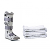Aircast AirSelect Elite Walker Boot and Replacement Socks (Pack of 2 Socks)