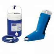 Donjoy Arcticflow Foot and Ankle Wrap with Cooler Unit