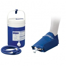 Aircast Foot Cryo Cuff and Cold Therapy Gravity Cooler Saver Pack