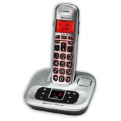 Amplicomms BigTel 1280 Big Button Amplified Cordless Telephone with Digital Answering Machine