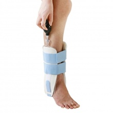 AnkleGuard Stirrup Ankle with Inflatable Pads