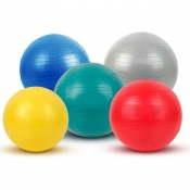 Anti-Burst Exercise Therapy Ball 45cm Yellow