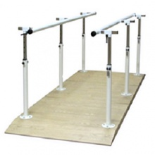 Bariatric Height- and Width-Adjustable Parallel Bars