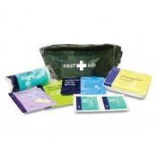 Basic HSE One Person First Aid Kit in Riga Bum Bag