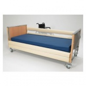Bed Rail Entrapment Avoidance Bed Profiling Cotside Bumpers with Net Window and Base