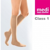 Medi Mediven Elegance Class 1 Beige Below Knee Compression Stockings