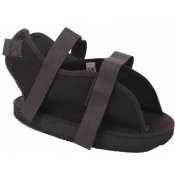 Black Deluxe Cast Sandal
