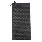 Black Quilted Wallet for the Folding Walking Sticks