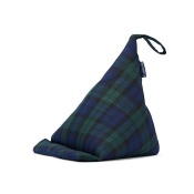 Blue Badge Company Blackwatch Tartan Bean Bag Cushion Tablet Stand