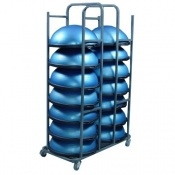 BOSU Balance Trainer Pro Club Pack with Storage Cart