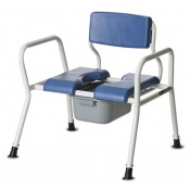 Bristol Maid Bariatric Commode Chair (610mm)