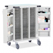 Bristol Maid Biodose and Multimeds Dosage Trolley with Double Door and Code Lock