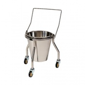Bristol Maid Stainless Steel Bucket Stand with Handle