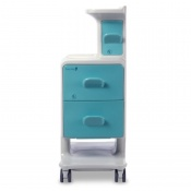 Bristol Maid eClean Polymer Bedside Cabinet