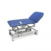 Bristol Maid Electric Two-Section Bariatric Treatment and Examination Couch with Foot Switch