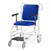 Bristol Maid Front-Steer Nesting Portering Chair with Sliding Foot Rest