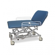Bristol Maid Hydraulic Mobile Bariatric Bobath Therapy Couch