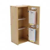 Bristol Maid Large Wooden Patient Self Administration Cabinet with CAM Lock