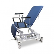 Bristol Maid Electric Three Section Bariatric Phlebotomy Chair with Foot Switch
