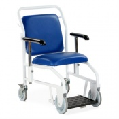 Bristol Maid Rear-Steer Nesting Portering Chair with Sliding Foot Rest