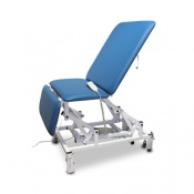Bristol Maid Electric Three-Section Bariatric Treatment Chair with Foot Switch