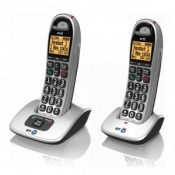 BT BT4000 Big Button Twin Amplified Cordless Telephone