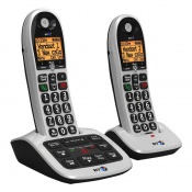 BT BT4600 Big Button Twin Cordless Telephone with Answer Machine