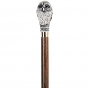 Owl Collectors' Walking Stick