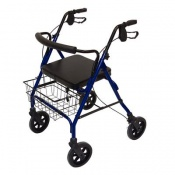 Days Blue Bariatric Heavy-Duty Rollator
