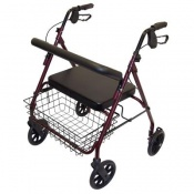 Days Red Bariatric Extra Heavy Duty Rollator