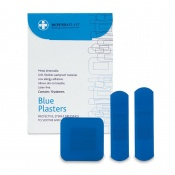 Dependaplast Advanced Blue Assorted Plasters (Pack of 10)