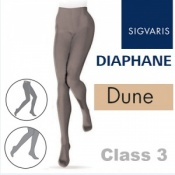 Sigvaris Diaphane Class 3 Dune Compression Tights