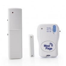Wireless Door and Window Security Alarm with Radio Pager Kit
