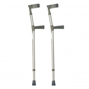 Drive Medical Extra Long Double Adjustable Forearm Crutches
