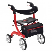 Drive Medical Red Nitro Rollator