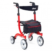 Drive Medical Red Tall Nitro Rollator