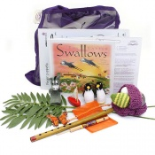 Easter Swallows Sensory Toy Story Book