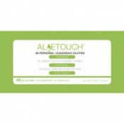 EasyBath Aloe Touch Personal Cleansing Cloths 120 Packs