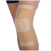 Elastic Knee Support With Gel Pad