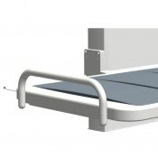 End Guard for the Ropox Height Adjustable Changing Bench