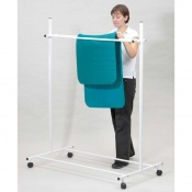 Exercise Mat Storage Trolley