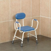 Extra-Low Perching Stool for Shorter Users