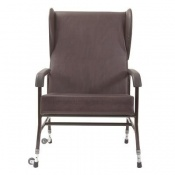 Extra Wide Adjustable Metal Framed Chair