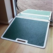 Fibreglass Two-Sided Threshold Ramp